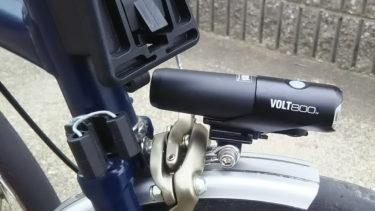 ブロンプトン(BROMPTON)にCAT EYE VOLT800を取り付けてみた