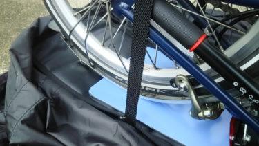 ブロンプトンの輪行袋『ころがーる』を、キャリアなしのブロンプトンでも快適に使う技