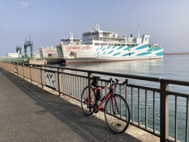 ロードバイクで伊勢湾一周(イセイチ)サイクリング